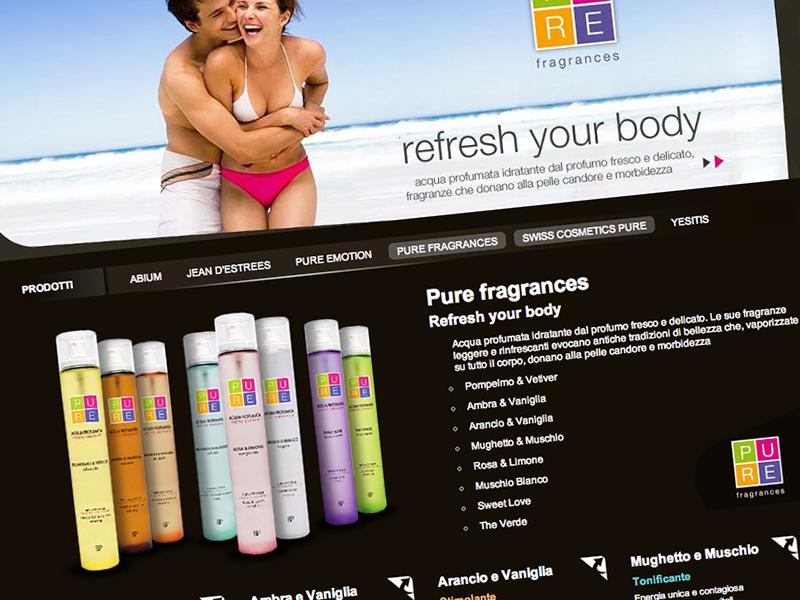 Wellness products fragrances products wellness website ui photo complic complic studio