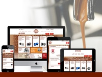 Coffiplanet Responsive E-commerce