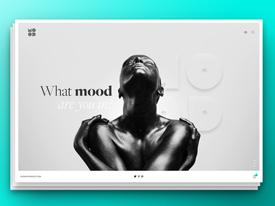 Different mood mood photography minimal header hero