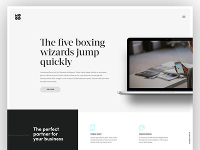 Minimal Approach icons typography wordpress theme minimal