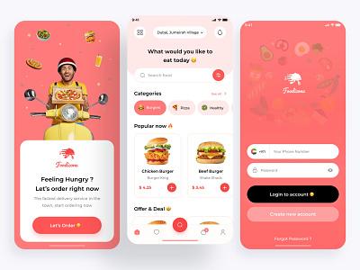 Foodizone 🍔 fresh talabat cart animation 3d motion graphics branding graphic design delivery food logo uiux ui illustration design ux figma adobe uidesign uxdesign