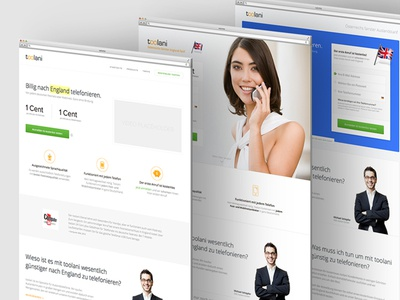 Simple Conversion Test conversion test landing page homepage form signup testimonials