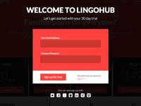 Lingohub SignUp Modal