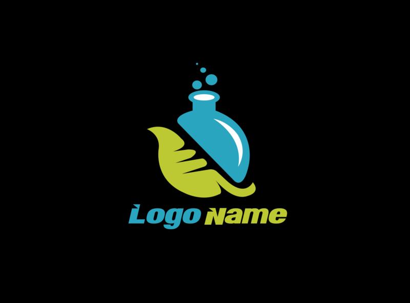 chemist1 illustrator vector minimal logo illustration icon flat design