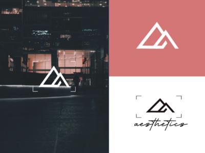 photography logo construction brand identity illustrator vector minimal logo illustration icon flat design