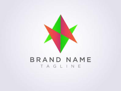 personal branding branding brand identity illustrator vector minimal logo illustration icon flat design