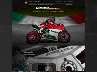 Ducati Panigale Multisite Homepage