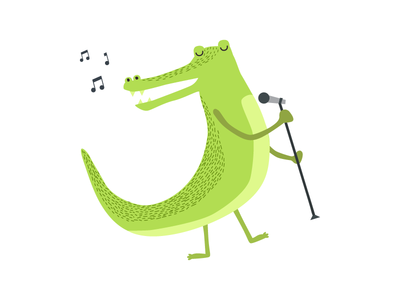 Illustration • Zecchino d'Oro graphic design material design icon ux ui animal graphic works illustration web design design