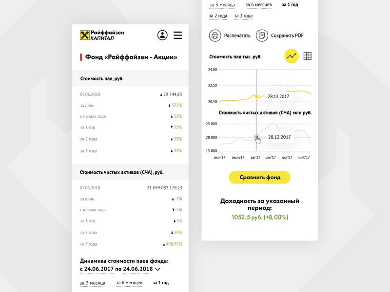 Raiffeisen capital fund page