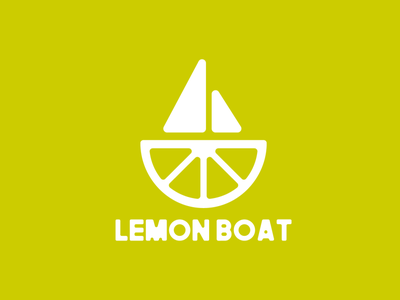 LIMEBOAT brand design flat illustration illustraion icon typography flat vector clever logo branding design logo design
