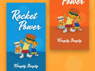 Rocket Power iphone Wallpaper ui illustration cartoon pattern otto rocket rocket power iphone wallpaper