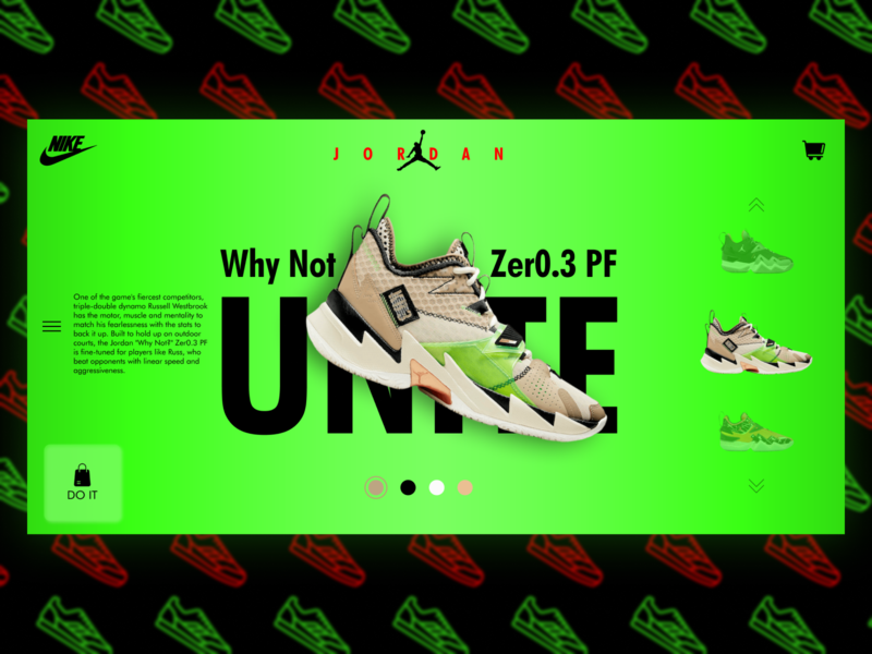 Nike Jordan Why Not Zer0.3 PF UNITE design app logo ux website web ui flat design branding