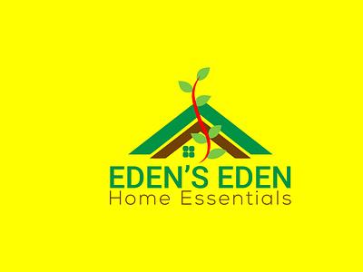 Eden's Eden Logo Design design minimal flat vector branding robin237 minimalist logo luxury logo logo branding design