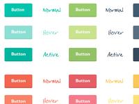 Freebie: Flat Buttons