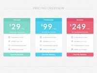 Freebie: Flat Pricing Table
