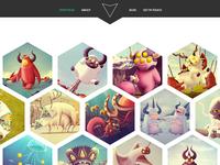 Hexal: Portfolio Template