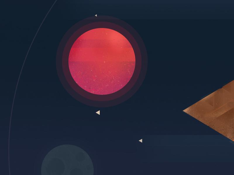 Freebie // Backdrop: Puzzle Pilot stars star space planets planet backdrop mockup freebie psd