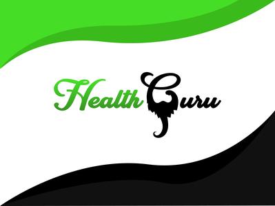 Heath Guru fun logo different logo health logo gradient logo illustration logo inspiration branding inspiration logo logo designer logo ideas unique logo logo design