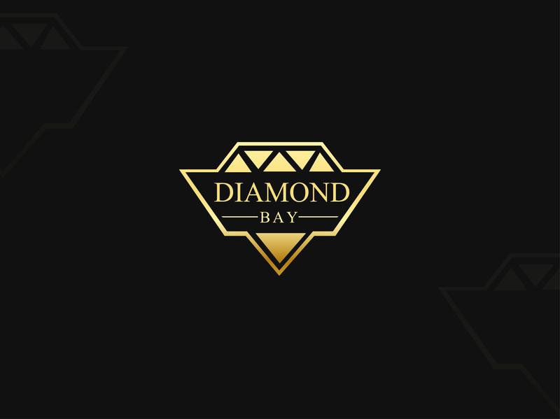 Diamond Bay logos tahsin nihan illustration logo inspiration branding inspiration logo designer logo logo ideas unique logo logo design