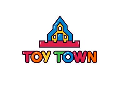 Toy Town tahsin nihan logo designer unique logo vector design logo inspiration logos website logo child logo fun logo colorful logo inspiration logo design symbol inspiration toy logo ideas