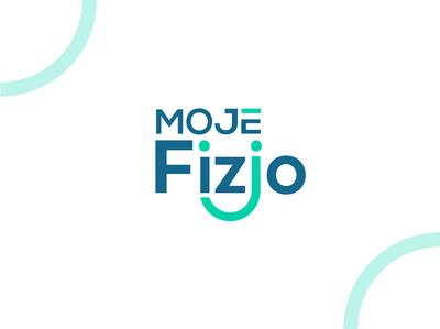 Moje Fizjo gradient modern moze fizjo logo mark illustration logo branding gradient logo combination mark logo inspiration logo designer inspiration logo ideas unique logo logo design