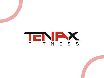 Tenax Fitness dailylogochallenge combination mark logos tahsin nihan illustration branding logo designer inspiration logo ideas logo inspiration logo design