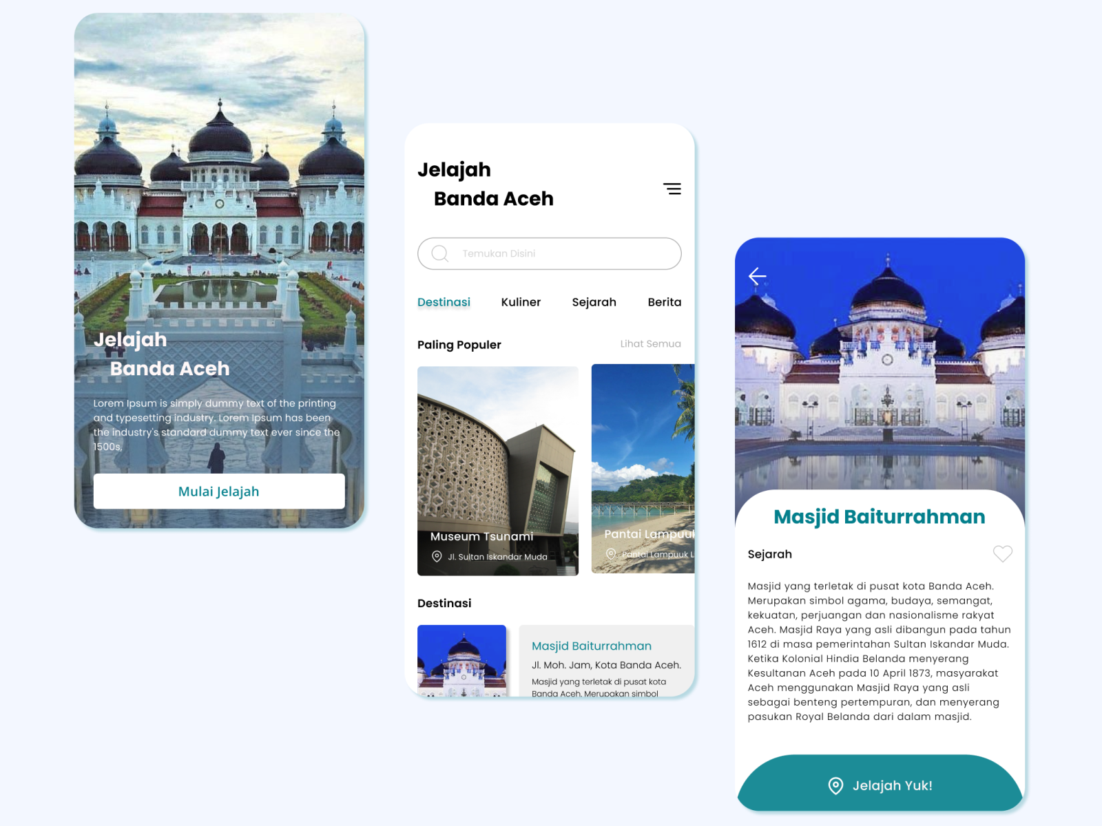 Jelajah Banda Aceh By Muhammad Rayvan On Dribbble