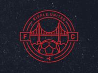 Ripple Soccer Crest (San Francisco Team)