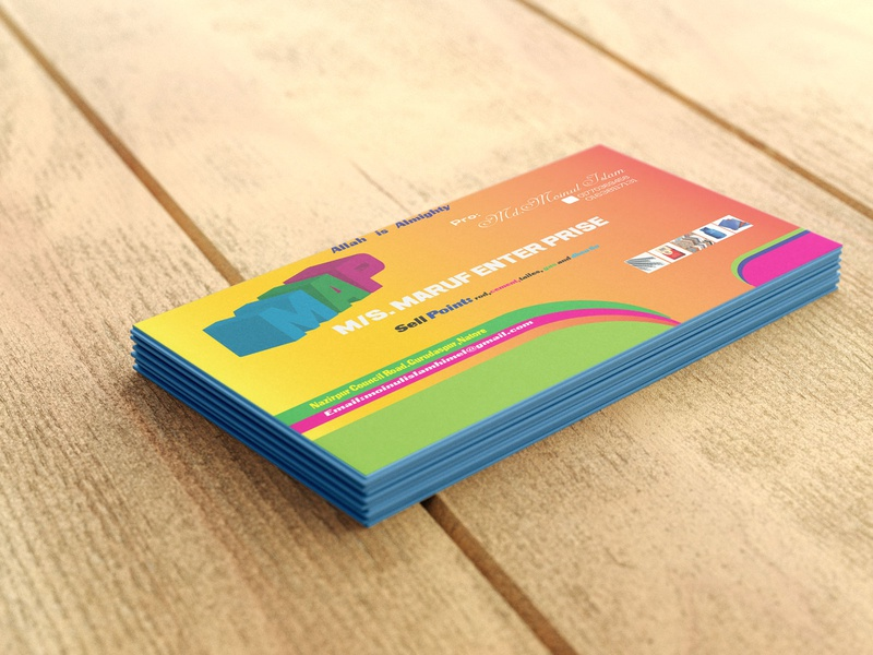 Business Card illustrator