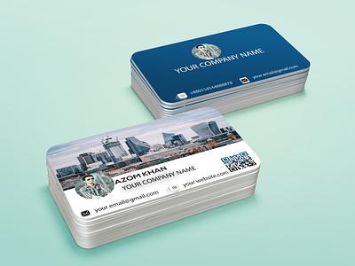 CITY Business card design illustrator