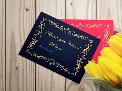 New thank you card last jpg 1 ui logo design adobe photoshop illustrator
