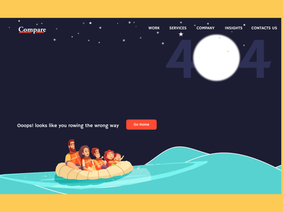 404 Error Page uidaily uxdesigner 404 error page uxer landing page design user interface design user experience graphicdesign illustration art website web branding typography minimal ux app design