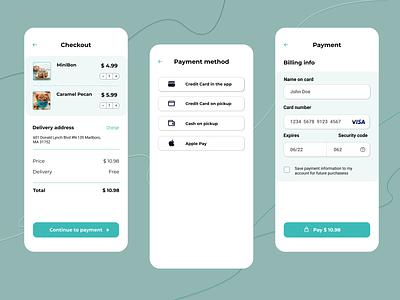 Credit Card Checkout dailyuichallenge clean creditcard checkout mobile design mobile design dailyui app ux ui