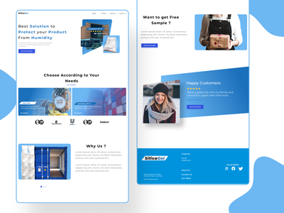 Homepage for Drypack Company daily ui website design company export landing page web design design ux typography ui