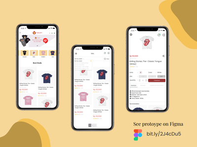 Mobile view for Gorillacoachid design ui t shirt app company design mobile design e commerce daily ui