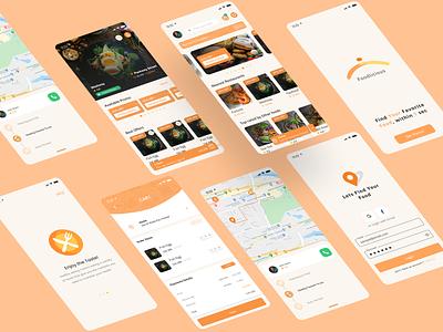 Foodlicious | Food app design food app ui design mobile company startup food food app ui mobile design daily ui