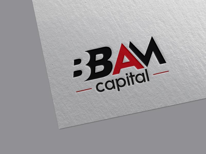 BBAM Capital Logo custom brand identity flat branding signature logo