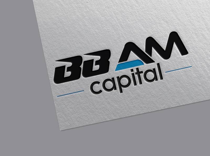 Logo Design for BBAM Capital capital logo bbam logo bbam logo minimalist signature brand identity flat custom branding logo