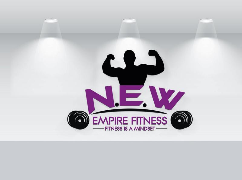 Fitness Gym Logo brand vector design minimalist custom branding signature logo flat brand identity