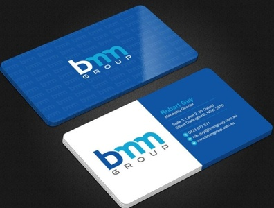 Business Card Design corporate business card branding bmm business card design corporate identity businesscard brand identity