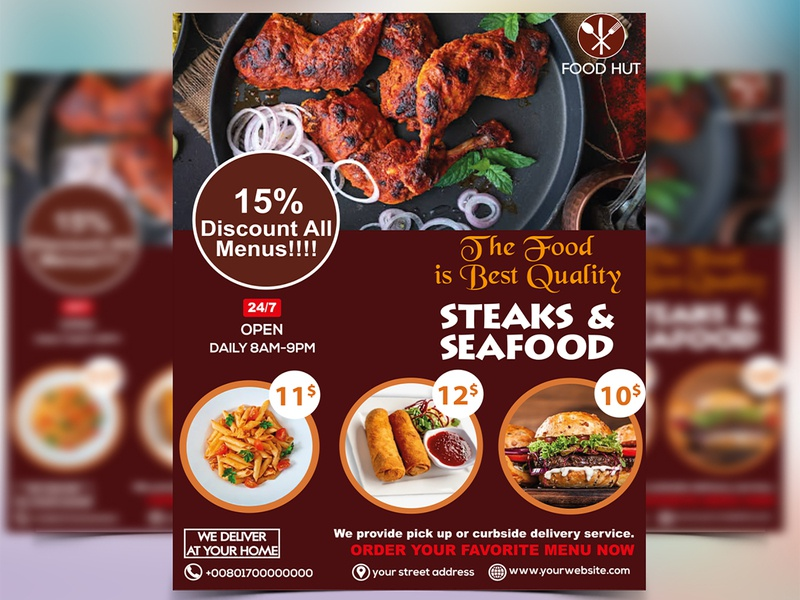 Restaurant Food Menu Design | Food Menu | Menu Design 2020 simple restaurant menu design menu folio menu trends 2020 menu list restaurant menu card menu template