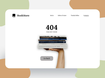 Error 404 - Desktop books uxdesign website apps ux designweb uidesign figma ui