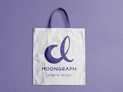 Bag mockup design vector logo branding