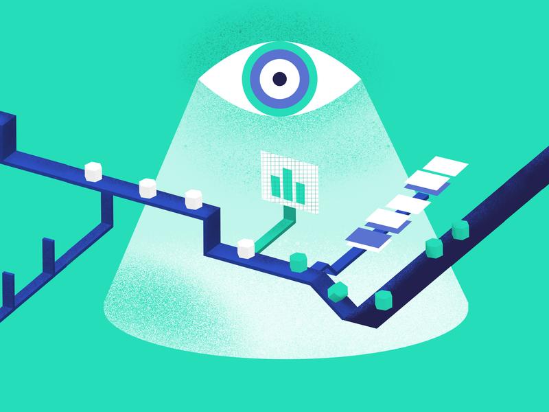 Keep Eye Process procreate sketch illustration