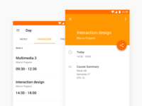 """Day App"" Material Design"