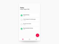 Daily UI #009 • To-Do App
