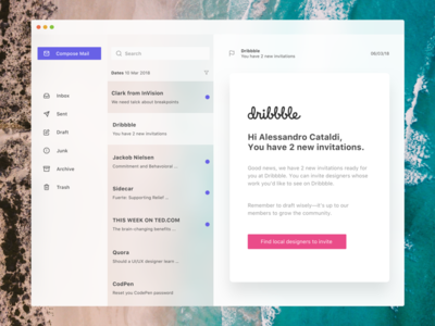Daily UI - Two Invitations