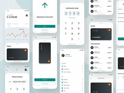 Design Concept: Banking app 03 banking app banking product design user experience app design user interface ux design ui design
