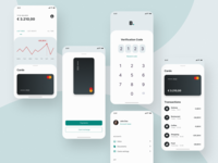 Design Concept: Banking app (Free)