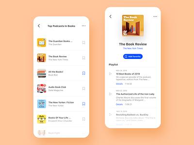 2. Podcast - Top and Channel design concept adobe xd app podcast daily ui product design app design ux design ui design